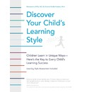 Discover Your Child's Learning Style