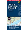 2. Central Southern England: AA Road Map Britain