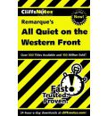 """Notes on Remarque's """"All Quiet on the Western Front"""""""