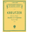 Rodolphe Kreutzer: Forty-Two Studies or Caprices (Violin)