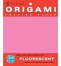Origami Hanging Paper Fluorescent 6 24 Sheets