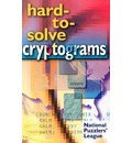 Hard-to-solve Cryptograms