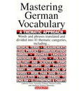 Mastering German Vocabulary