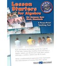 Lesson Starters for Algebra for Common Core State Standards: A PowerPoint Teaching Tool