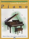 Alfred's Basic Piano Lesson Book Level 3