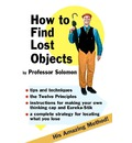How to Find Lost Objects
