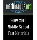 Middle School Test Materials 2009-2010