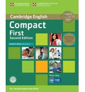 Compact First Student's Book Pack (Student's Book with Answers with CD-ROM and Class Audio CDs(2))