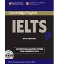 Cambridge IELTS 9 Self-study Pack (student's Book with Answers and Audio CDs (2)): Authentic Examination Papers from Cambridge ESOL