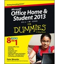 Microsoft Office Home & Student Edition 2013 All-in-One For Dummies