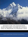 Ancient Law: Its Connection with the Early History of Society, and Its Relation to Modern Ideas