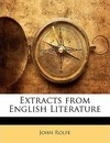 Extracts from English Literature