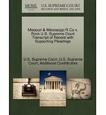 Missouri & Mississippi R Co V. Rock U.S. Supreme Court Transcript of Record with Supporting Pleadings