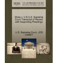 Shaw V. U S U.S. Supreme Court Transcript of Record with Supporting Pleadings