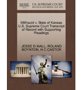 Millhaubt V. State of Kansas U.S. Supreme Court Transcript of Record with Supporting Pleadings