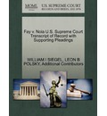 Fay V. Noia U.S. Supreme Court Transcript of Record with Supporting Pleadings