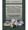 Joseph Sherman, Petitioner, V. James A. Hamilton, JR., District Director, Immigration and Naturalization U.S. Supreme Court Transcript of Record with Supporting Pleadings