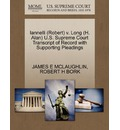Iannelli (Robert) V. Long (H. Alan) U.S. Supreme Court Transcript of Record with Supporting Pleadings