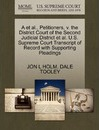 A et al., Petitioners, V. the District Court of the Second Judicial District et al. U.S. Supreme Court Transcript of Record with Supporting Pleadings