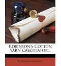 Robinson's Cotton Yarn Calculator...