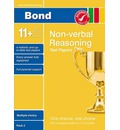 Bond 11+ Test Papers Non-Verbal Reasoning Multiple Choice Pack 2