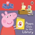 Peppa Pig: Peppa Goes to the Library: My First Storybook