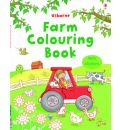 Farm Colouring Book with Stickers