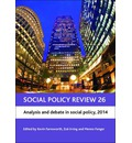 Social Policy Review 26: Analysis and Debate in Social Policy 2014: 26