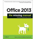 Office 2013: The Missing Manual