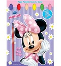 Minnie Mouse: Sweet Things: Page Palette Book to Color