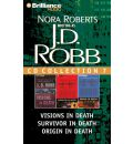 J.D. Robb CD Collection 7: Visions in Death, Survivor in Death, Origin in Death