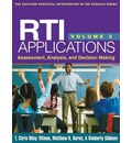 RTI Applications, Volume 2: Volume 2: Assessment, Analysis, and Decision Making