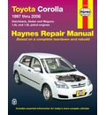Toyota Corolla Automotive Repair Manual: 1997 to 2006