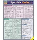 Spanish Verbs Laminate Reference Chart