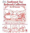 Sunbonnet Sue Redwork Collection: For All Seasons
