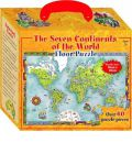 Seven Continents of the World Floor Puzzle