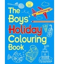 The Boys' Holiday Colouring Book