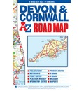 Devon & Cornwall Road Map