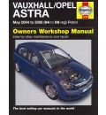 Vauxhall/Opel Astra: May 2004 to 2008 (04 to 08 Reg) Petrol