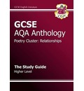 GCSE Anthology AQA Poetry Study Guide (Relationships) Higher