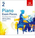 Piano Exam Pieces 2013 & 2014 CD, ABRSM Grade 2 2014: Selected from the 2013 & 2014 Syllabus