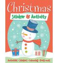 Christmas Sticker & Activity: Activities, Stickers, Colouring, Press-outs