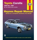 Toyota Corolla (RWD) 1980-87 Automotive Repair Manual
