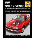 VW Golf and Vento Service and Repair Manual: Petrol and Diesel 1992 to 1998