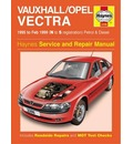 Vauxhall/Opel Vectra Service and Repair Manual: 1995 to 1999