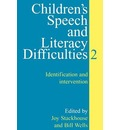 Children's Speech and Literacy Difficulties: Identification and Intervention Bk. 2