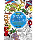 Boys' World: Doodling and Colouring