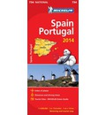 Spain and Portugal 2014 National Map 734