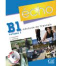 Echo (Nouvelle Version): Livre De L'Eleve + Portfolio + CD MP3 B1.1