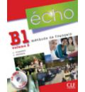 Echo (Nouvelle Version): Livre De L'Eleve + Portfolio + CD MP3 B1.2